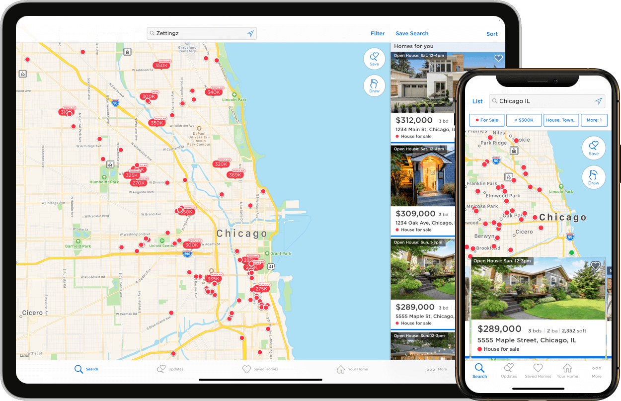 Real Estate Mobile Apps - Zillow on