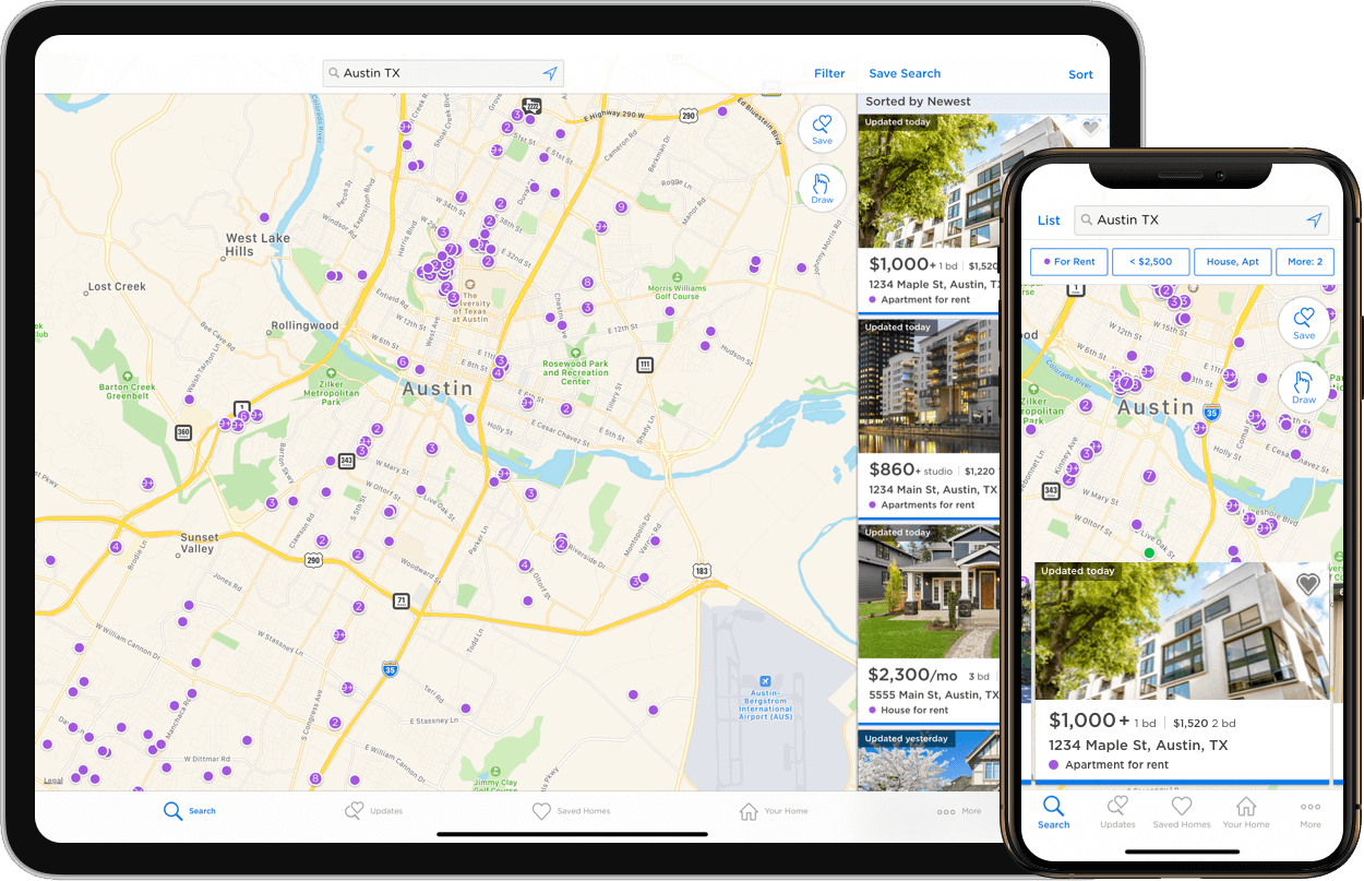 Rentals App for Mobile | Zillow on